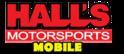 Hall's Motorsports Mobile Logo