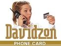 Davidzon Phone Card Logo