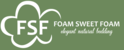 Foam Sweet Foam Logo