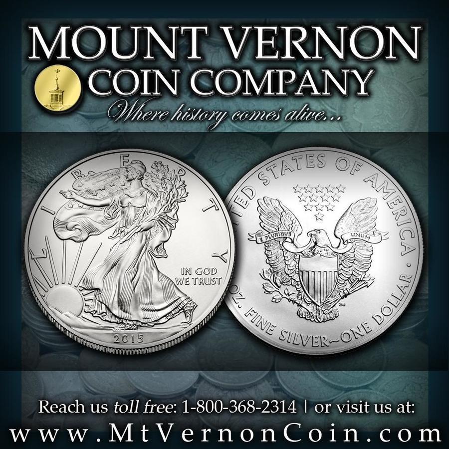 mount vernon coins