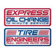 Express Oil Change & Tire Engineers Logo