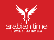 Arabian Time Travel Tourism Logo