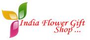 India Flower Gift Shop Logo