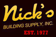 Nick's Building Supply Logo