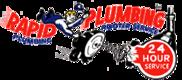 Rapid Plumbing Rooter Service Logo
