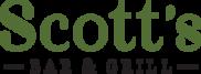 Scott's Bar & Grill Logo