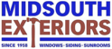 Mid-South Exteriors Logo