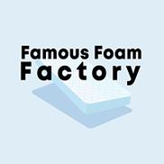 Famous Foam Factory Logo