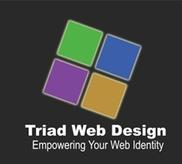 123 Triad Web Design Logo