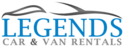 Legends Car & Van Rentals Logo