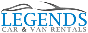 Legends Car & Van Rentals Logo