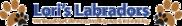 Lori's Labradors Logo