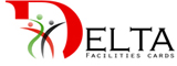 Delta Facilities Cards / Delta Families Logo