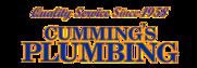 Cumming's Plumbing Logo