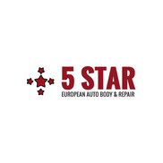 5 Star European Auto Body & Repair Logo