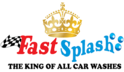 Fast Splash Car Wash Logo