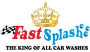Fast Splash Car Wash Logo