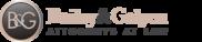 Bailey & Galyen Attorneys at Law Logo