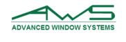 Advanced Window Systems / awsdfw.com Logo