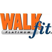 Walkfit Platinum Logo