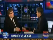 Michael Moore and Sean Hannity Talk About Mortgage Crisis