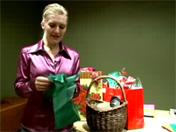 Tips How to Wrap a Christmas Gift with Fabric